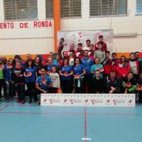 Cerca de cien deportistas participaron en el X Torneo de Veteranos 'Ciudad de Ronda'