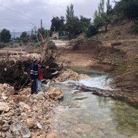 Un mes después de las inundaciones más de la mitad de los carriles de Ronda siguen cortados o en un estado de deterioro