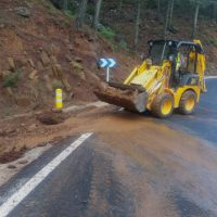 La Diputación destina 350.000 euros para reparar 13 carreteras de la Serranía que resultaron dañadas por el temporal