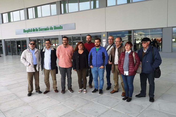 Adelante Andalucía dice que lo más prioritario ahora es el arreglo de las carreteras interiores de la comarca y deja la autovía de Ronda para una segunda fase