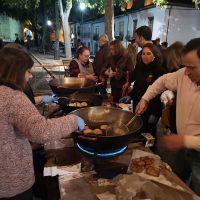 El evento se ha convertido en toda una tradición para los vecinos del Barrio y de otras zonas de Ronda.