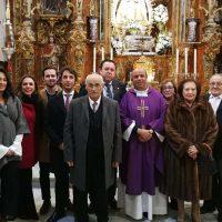 La Hermandad de la Paz dedica un homenaje a Manuel Jiménez Friaza por sus 30 años de dedicación a la Patrona de Ronda