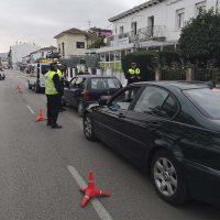 La Policía Local y la DGT realizan controles para evitar el consumo de alcohol y drogas en Ronda durante las Navidades