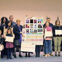 Los colegios Miguel de Cervantes y Juan Martín Pinzón participan en la elaboración del calendario educativo de Málaga contra la violencia de género