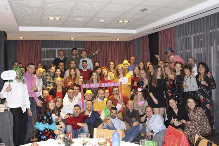 Los miembros del Club Harman Trail Running cierran el año deportivo con su tradicional cena navideña