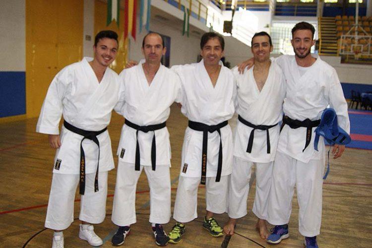 El deportista rondeño Juan Rafael Sierra obtiene el segundo Dan de Kárate tras superar todas las pruebas