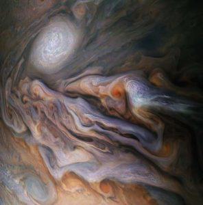 Nubes de Júpiter. Nasa.