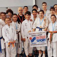 Alumnos de las Escuela de Kárate Seiken logran nueve medallas en el Trofeo Promesas del Circuito Provincial