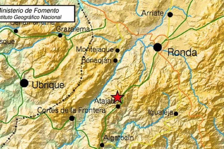 Atajate registra este martes un terremoto de tres grados en la escala Richter sin que produzcan incidencias