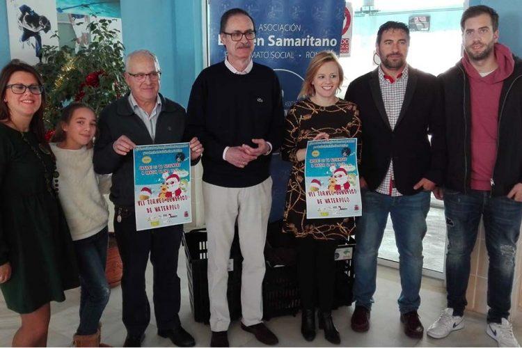 El Área Municipal de Deportes y el Club Waterpolo Ronda presenta su VII Torneo Solidario