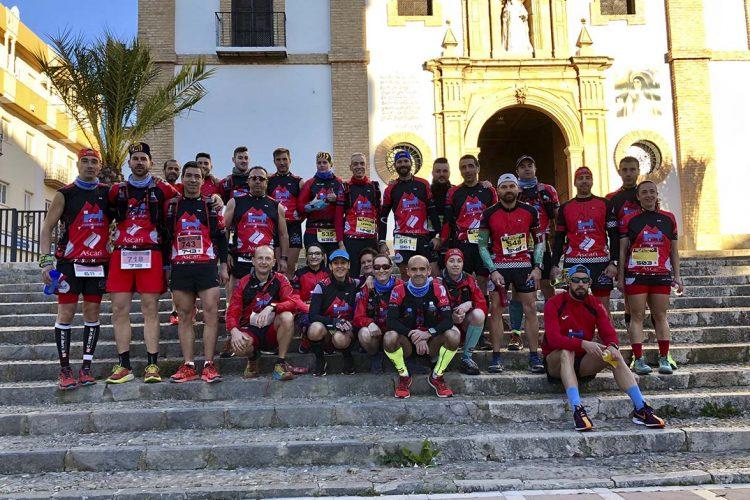 Los corredores del Club Harman Trail Running participaron hasta en cuatro pruebas el pasado fin de semana