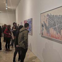 Panorámica de los 20 años de arte en el Instituto Martín Rivero en una exposición con 51 obras de sus alumnos