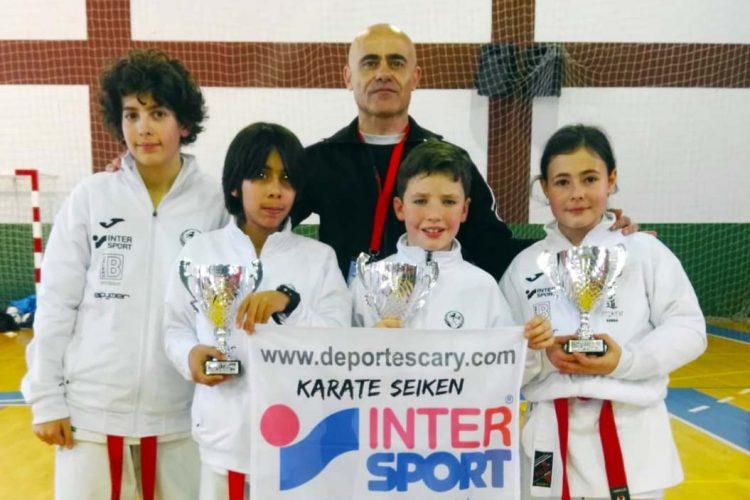Varios alumnos de la Escuela de Kárate Seiken se clasifican para la preselección malagueña