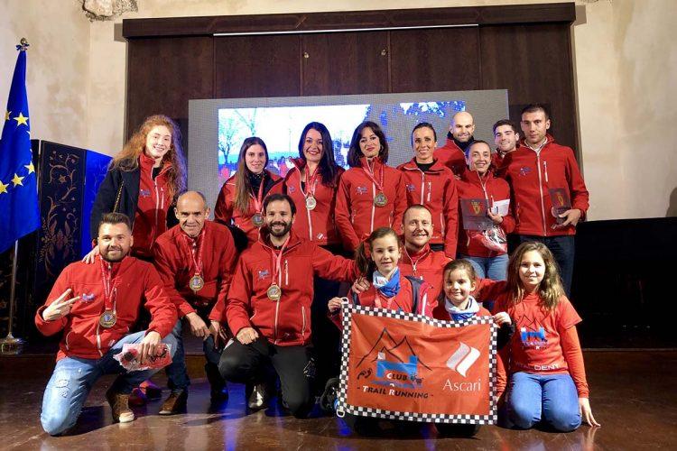 Reconocimiento al Club Harman Trail Running por sus logros en la Liga Rondeña de Ultrafondo
