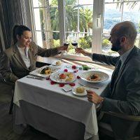 San Valentín, un buen momento para disfrutar en pareja de la buena mesa en el Restaurante Azahar del Hotel Catalonia Reina Victoria