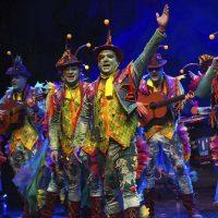 La comparsa 'El arrecife' se proclama vencedora en la final del Carnaval de Málaga con una magnífica puesta en escena