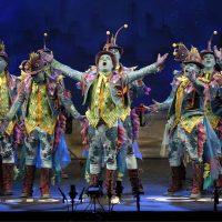 Gran actuación de la comparsa de Ronda 'El arrecife' en la fase de cuartos del Carnaval de Cádiz