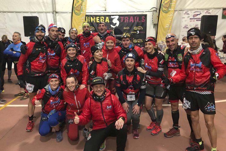 Corredores del Club Harman Trail Running disputaron el fin de semana el II Trail Ruta del Vino, la Jimera Trail, la CxM Calamorro y el Maratón de Sevilla