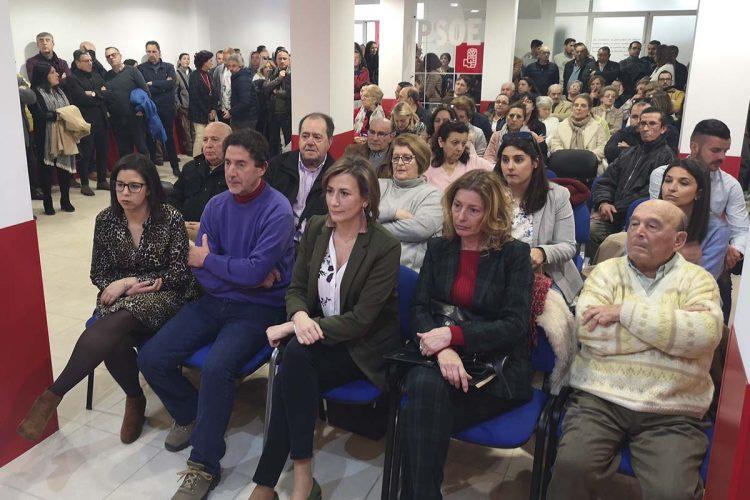 La ausencia del sector de Valdenebro en la asamblea del PSOE, donde se ha elegido la lista, evidencia la ruptura del partido