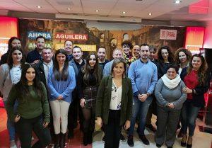 Las 26 personas que conformarán la lista del PSOE.