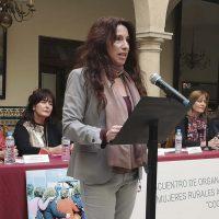 La consejera de Igualdad, Políticas Sociales y Conciliación inaugura en Ronda el Encuentro de Organizaciones de Mujeres Rurales Andaluzas 'Coordinadas'