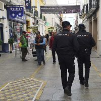 La Policía Nacional investiga a una joven rondeña por fingir ser víctima de un tirón y una agresión