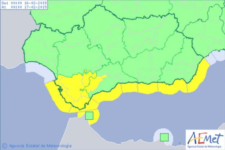 La Serranía estará esta madrugada y gran parte de la mañana del sábado en alerta amarilla por fuertes rachas de viento
