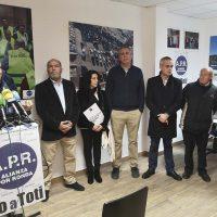 Alianza por Ronda presenta su lista para el 26M encabezada por Antonio Marín, al que siguen Josefa Valle, Ricardo Calle y Carlos Mirasol