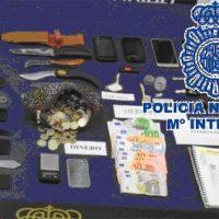 La Policía Nacional intervino en la operación 'Pignus' desarrollada en Ronda, además de drogas, armas y varios vehículos