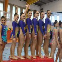 Éxito deportivo y organizativo del Club de Gimnasia Rítmica AGRA en un intenso fin de semana de desplazamientos y con el Torneo 'Ciudad de Ronda'