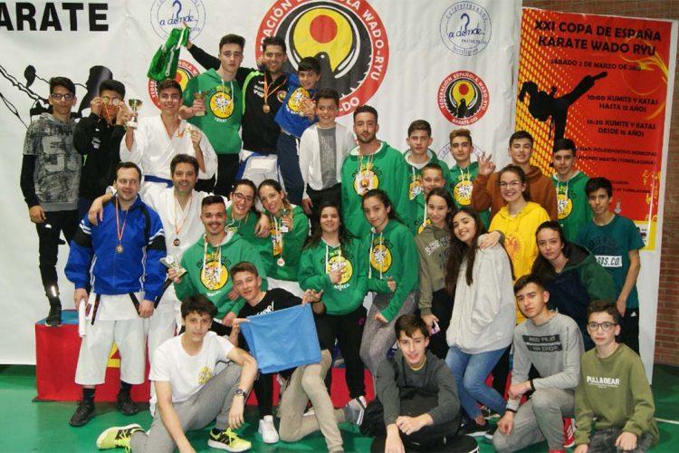 Los karatecas del Club Bushido de Ronda logran un gran número de medallas en la XXI Copa de España de Wado Kárate