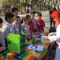 Escolares rondeños han celebrado el Día Mundial del Agua con diferentes actividades en la Alameda organizadas por Aqualia