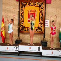 Las gimnastas del Club AGRA lograron hasta siete medallas en las competiciones del fin de semana