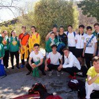 Los deportistas del Club Bushido iniciaron la Liga de Kárate provincial en la competición de Torrox