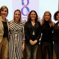 El PSOE entregó sus premios a la igualdad 'María Matilde Shemm' a Lina Gálvez, Auxi Jiménez y María Villalón