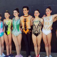 El Club de Gimnasia Rítmica AGRA vuelve cargado de medallas de las competiciones de Estepona y Alhendín