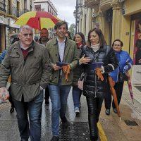 El candidato del Partido Popular de Málaga al Congreso de los Diputados Pablo Montesinos priorizará la declaración de la Sierra de las Nieves como Parque Nacional
