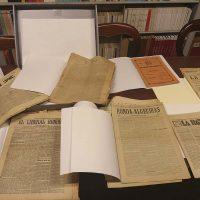 La Biblioteca de la Real Maestranza celebrará el Día del Libro con una exposición dedicada a la imagen de Ronda en la prensa histórica