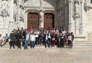 Grupo de alumnos europeos participantes en este Erasmus.