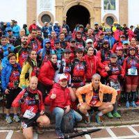 Histórica participación en la HOLE del Club Club Harman Trail Running, con 68 corredores disputando esta prueba
