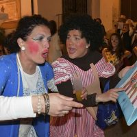 Jubrique presenta su tradicional y singular fiesta de máscaras