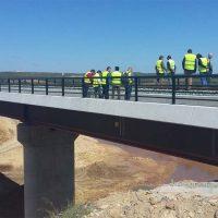 Adif finaliza las obras de reparación del tramo de la línea del tren entre Ronda y Bobadilla que quedó cortado por el temporal de octubre