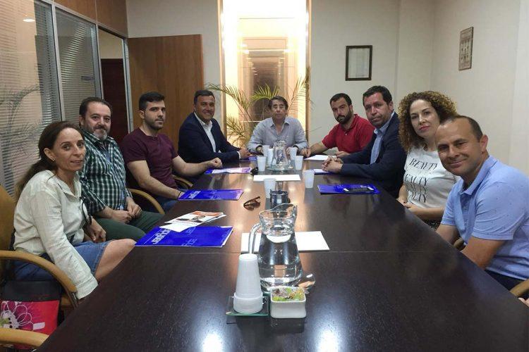 Ciudadanos propone a los empresarios de Apymer la redacción de un nuevo Plan General de Ordenación Urbana