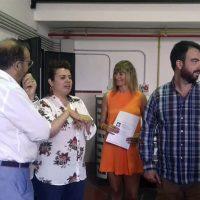 Ciudadanos presenta su programa de lectura fácil para personas con discapacidad en Asprodisis