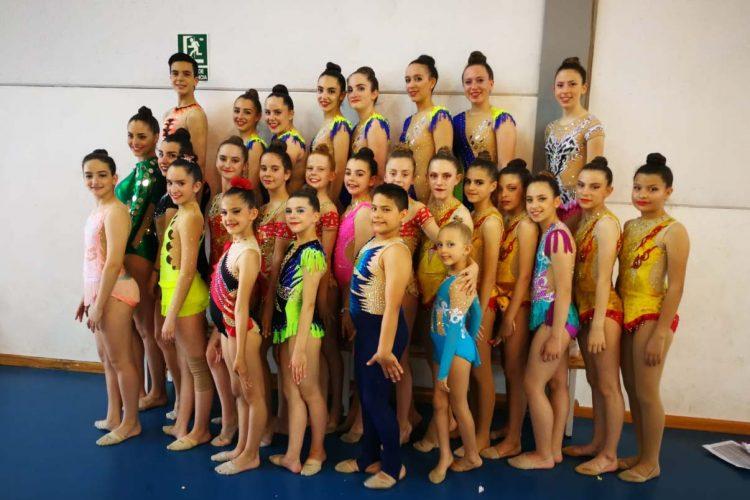 Los gimnastas del Club AGRA regresaron cargados de medallas tras su participación en el Torneo de Gimnasia Rítmica de Cártama
