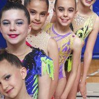 Las gimnastas del Club AGRA lograron importantes triunfos en el Torneo de Ceuta