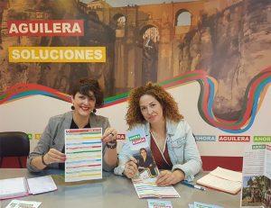 Pepi Cabrera y Mayte Rubio.