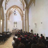 La Fundación Unicaja rehabilita la antigua capilla del Colegio Fernando de los Ríos como salón de actos