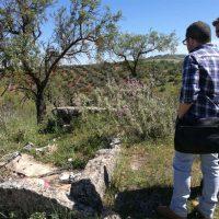 El Ayuntamiento inicia los trabajos para la puesta en valor de los dólmenes megalíticos de La Planilla