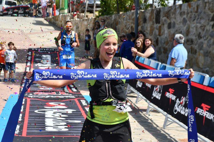 Los corredores Fran Pazo y Eva Zayago vencen en la CXM Alpandeire 2019